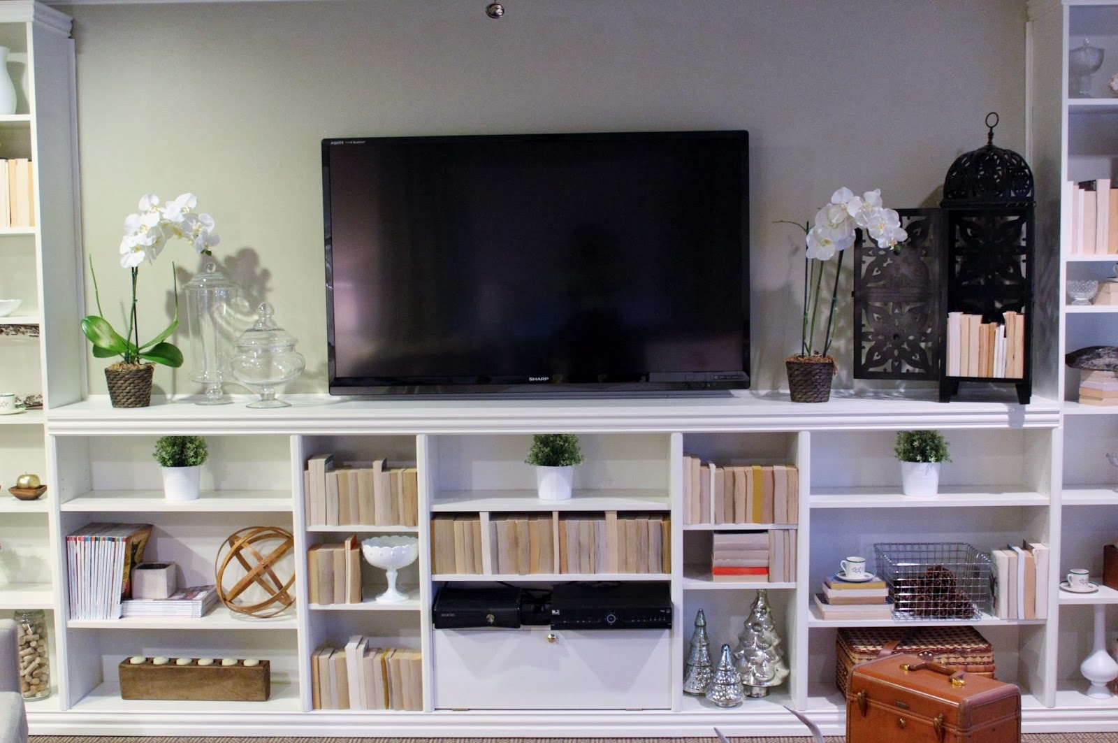 Billy Bookcase Tv Stand Photo Home Furniture Ideas With Bookcase Tv Stand (#3 of 15)