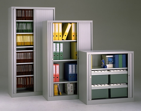 Bisley Filing Cabinets With Filing Cupboards (#3 of 15)