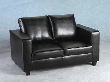 Black 2 Seater Sofas From Only 149 Upto Half Off A Black 2 In Black 2 Seater Sofas (#5 of 15)