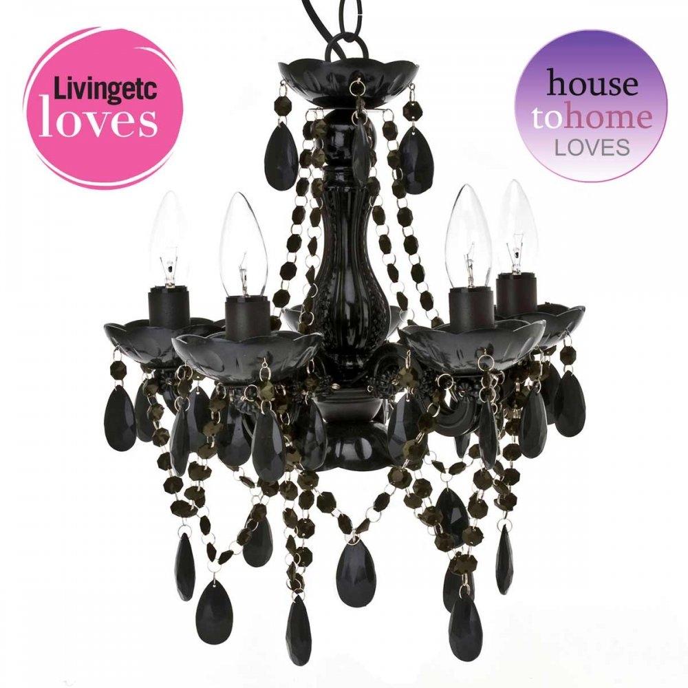 Black Chandelier For Bedroom Shanti Designs In Black Chandelier Bedroom (#5 of 12)