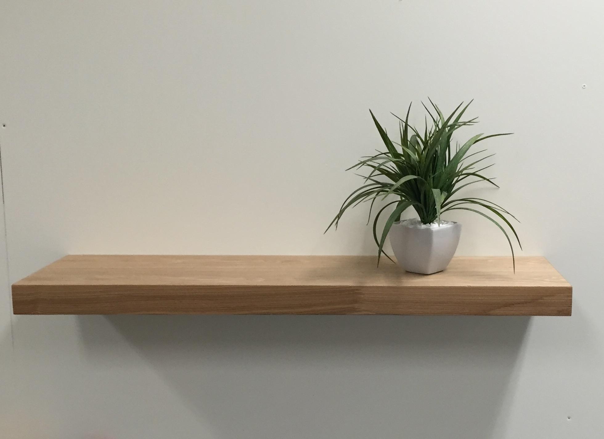 Black Floating Shelves 40cm Set Of 3 Wall Shelves Black Best With Regard To 50cm Floating Shelf (#2 of 12)