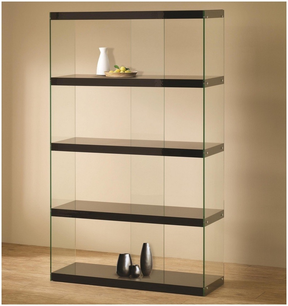 Black Glass Wall Shelf Most Seen Ideas In The Black Glass Shelves With Black Glass Shelves Wall Mounted (#6 of 15)