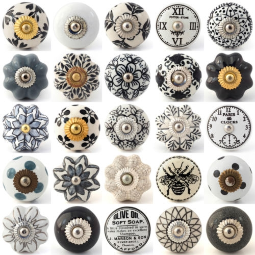 Popular Photo of Porcelain Cupboard Knobs