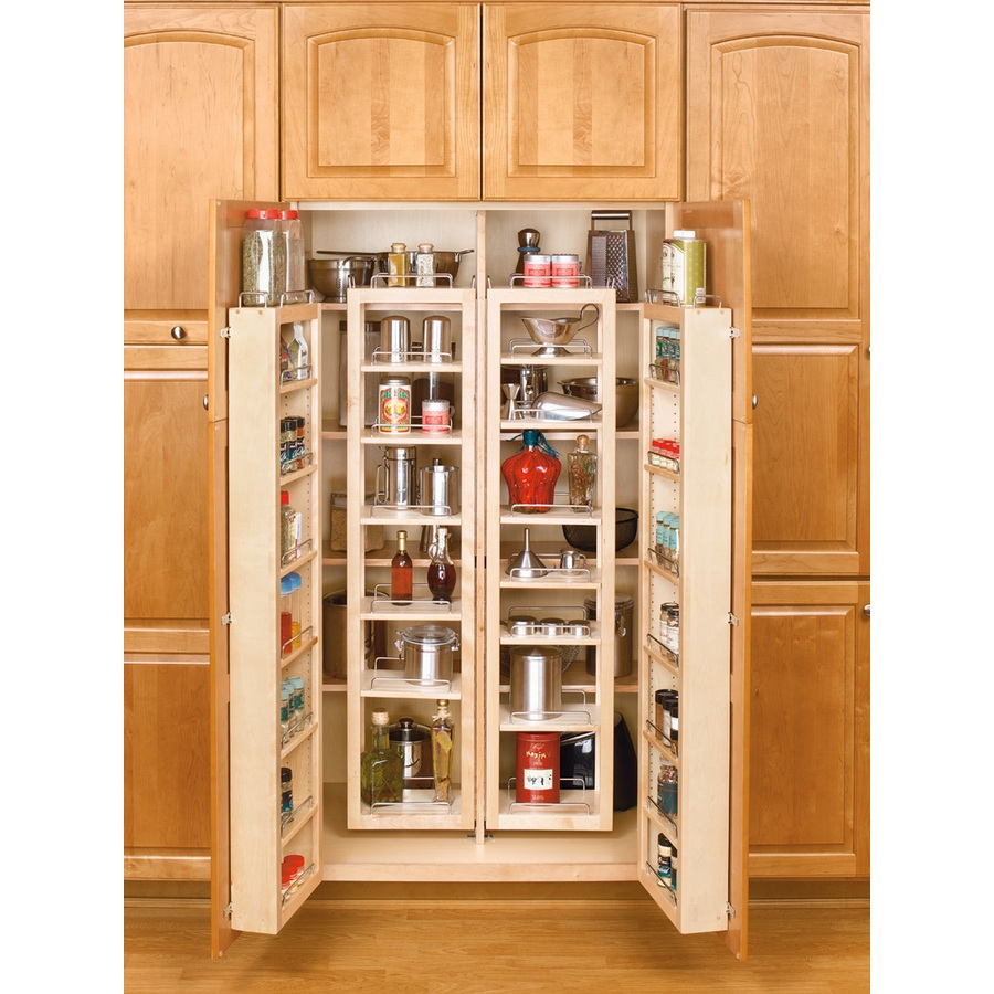 Bldgproductoftheday Full Kitchen Pantry Organizer This Large In Large Cupboard With Shelves (#4 of 15)