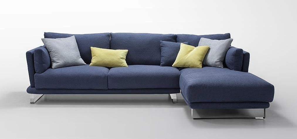 Blue Couch With Dark Blue Sofas (#8 of 15)