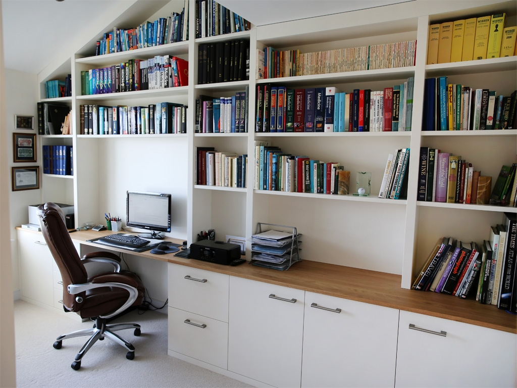 Hom Office Furniture: 15 Best Collection Of Fitted Study Furniture