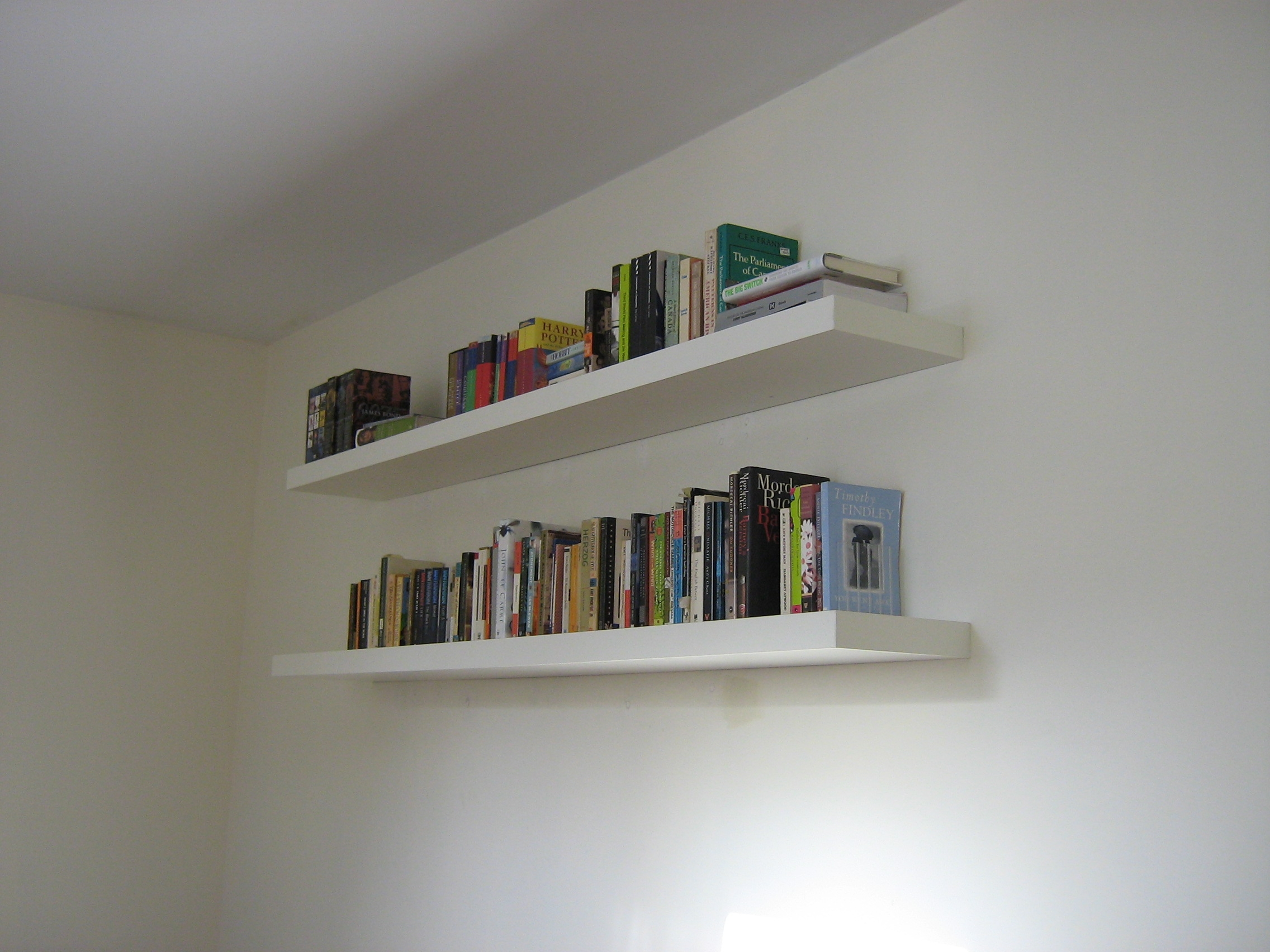 Book Wall Shelves Gallery With Design Enhancement Contemporary With White Wall Shelves (View 10 of 15)