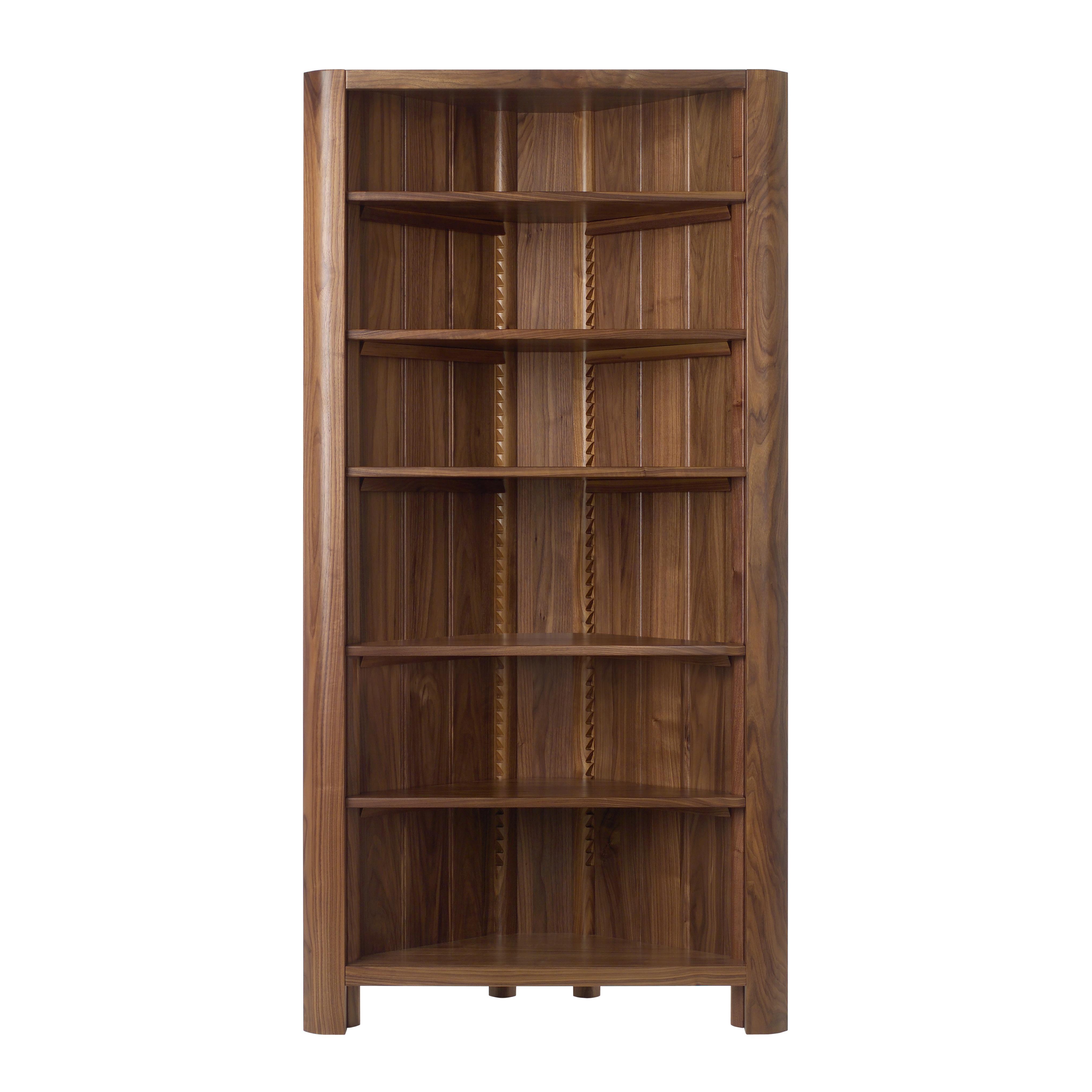 Bookcase Corner Unit Nanobuffet With Regard To Corner Bookcase (#2 of 15)