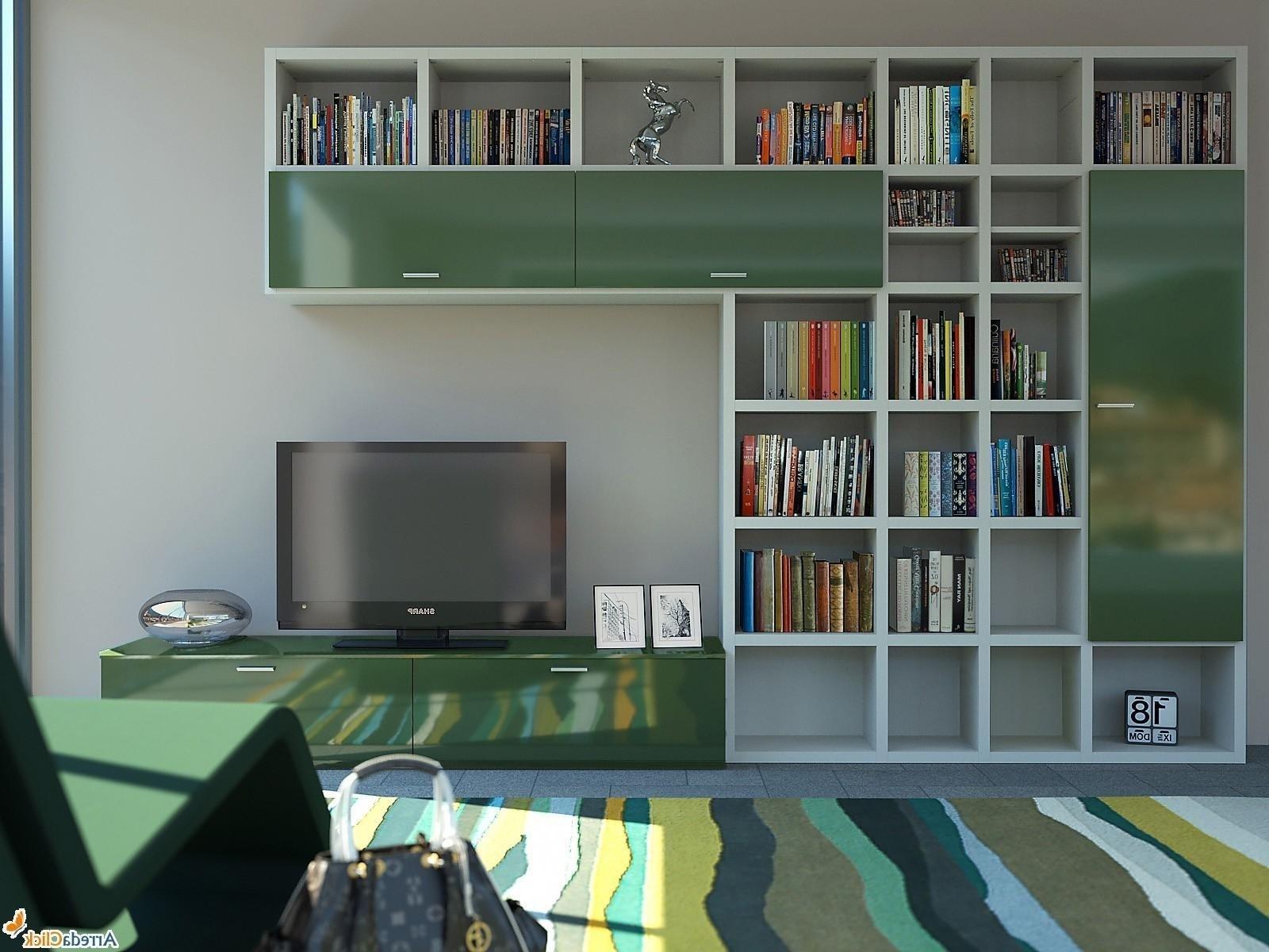 Bookcase Designs Fabulous Some Best And Unique Bookcase Designs Pertaining To Tv In Bookcase (#3 of 14)