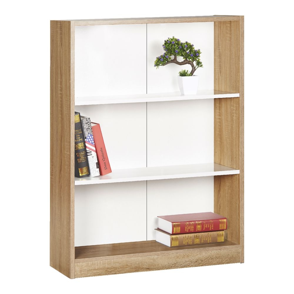 Bookcases Cubes Officeworks Regarding Flat Pack Bookcase (#3 of 15)