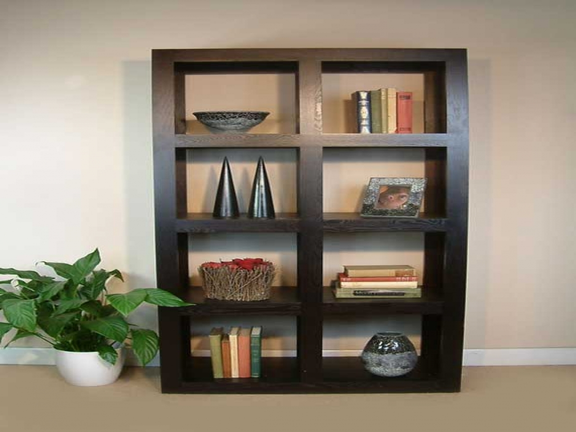 Bookcases Dark Wood Large Wood Bookshelves Design Solid Wood Within Large Wooden Bookcases (View 15 of 15)