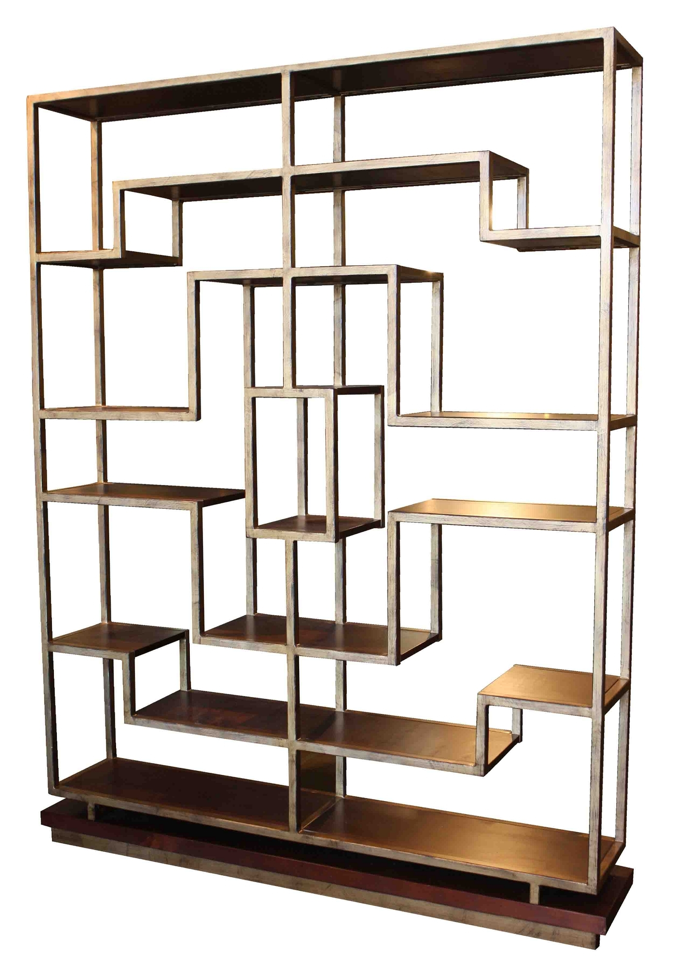 Bookcases Ideas Recommended Wonderful Metal Bookcase Ideas Wood With Regard To High Quality Bookcases (View 5 of 15)