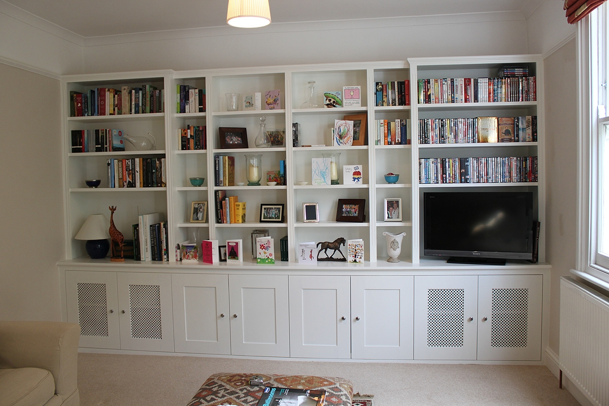 Bookcases Made To Measure Tonyswadenalocker With Regard To Fitted Book Shelves (#4 of 15)