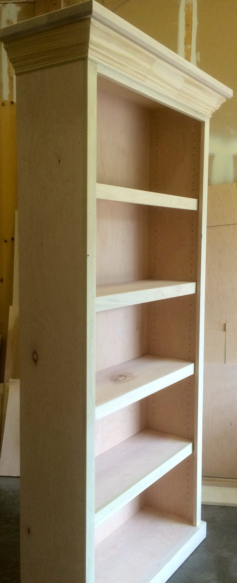 Bookcases Wood Gem Custom Cabinets Regarding Free Standing Bookcases (#2 of 15)