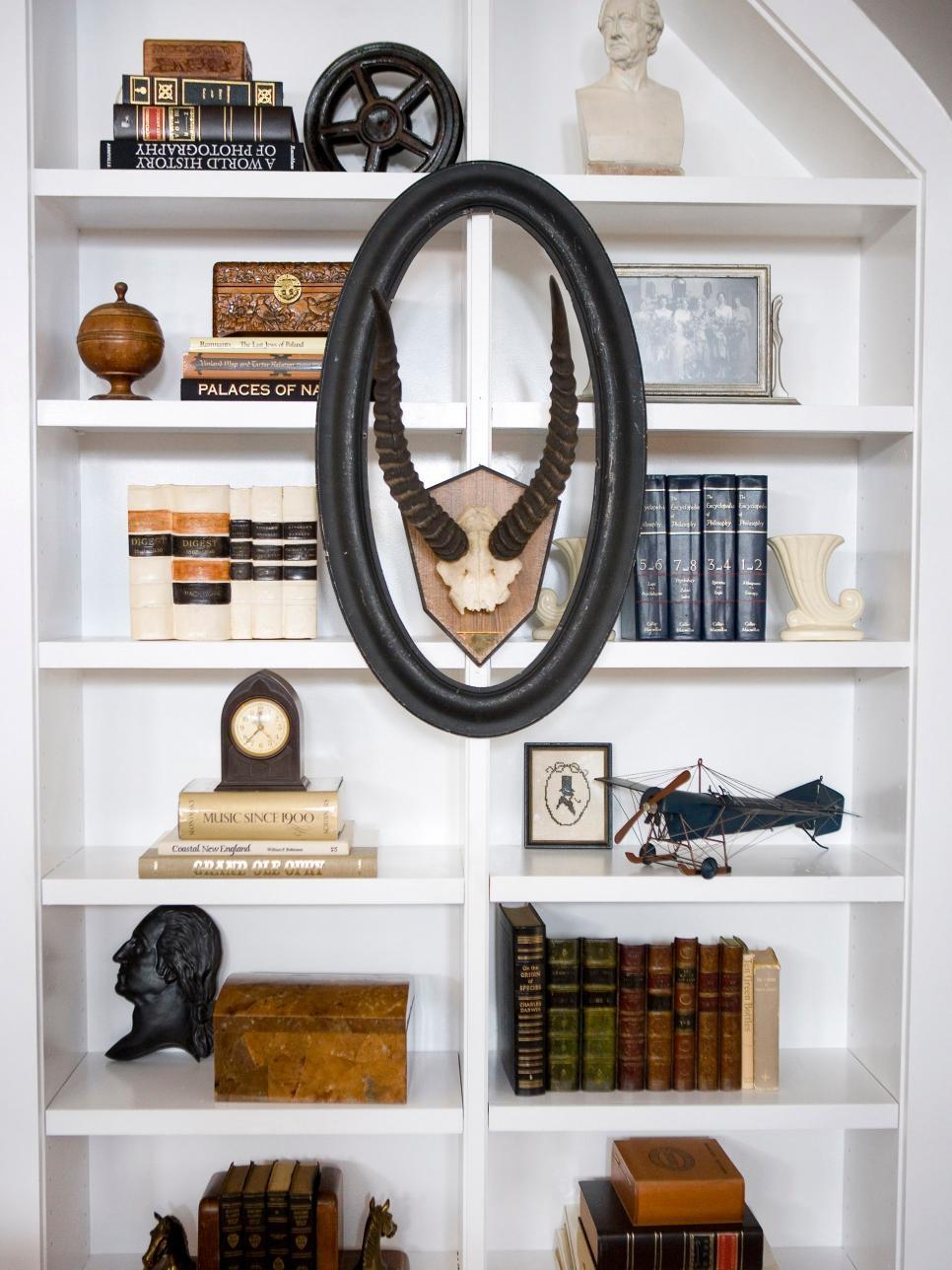 Bookshelf And Wall Shelf Decorating Ideas Hgtv Pertaining To Bookshelf Designs For Home (#5 of 15)