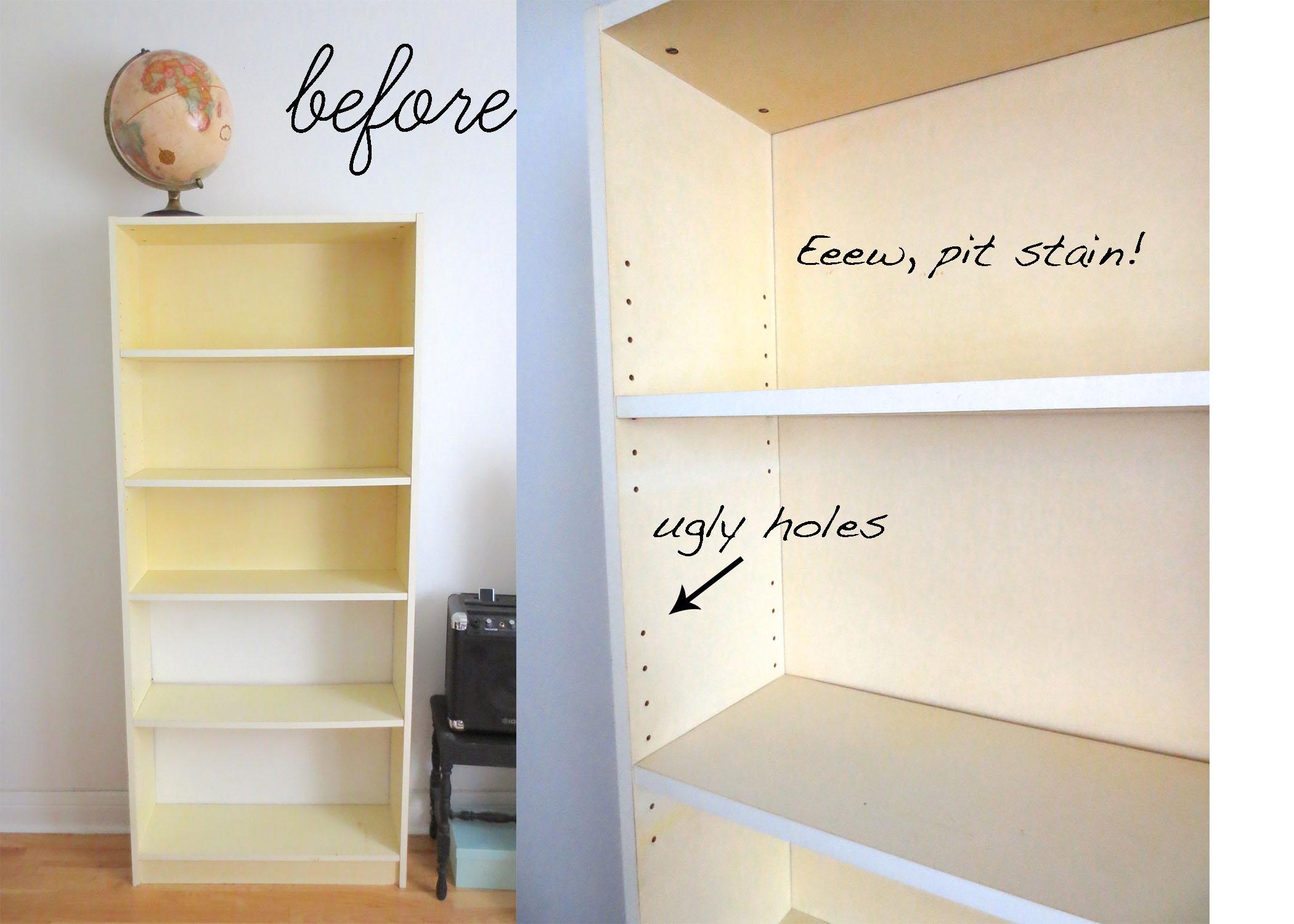 Bookshelf Inside Bookcase Cover (#3 of 15)