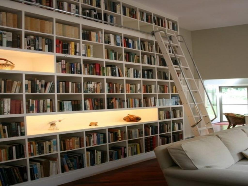 Bookshelf Wall Bookshelf Ideas Living Room Study Design Ideas Room Intended For Study Bookshelves (#3 of 15)