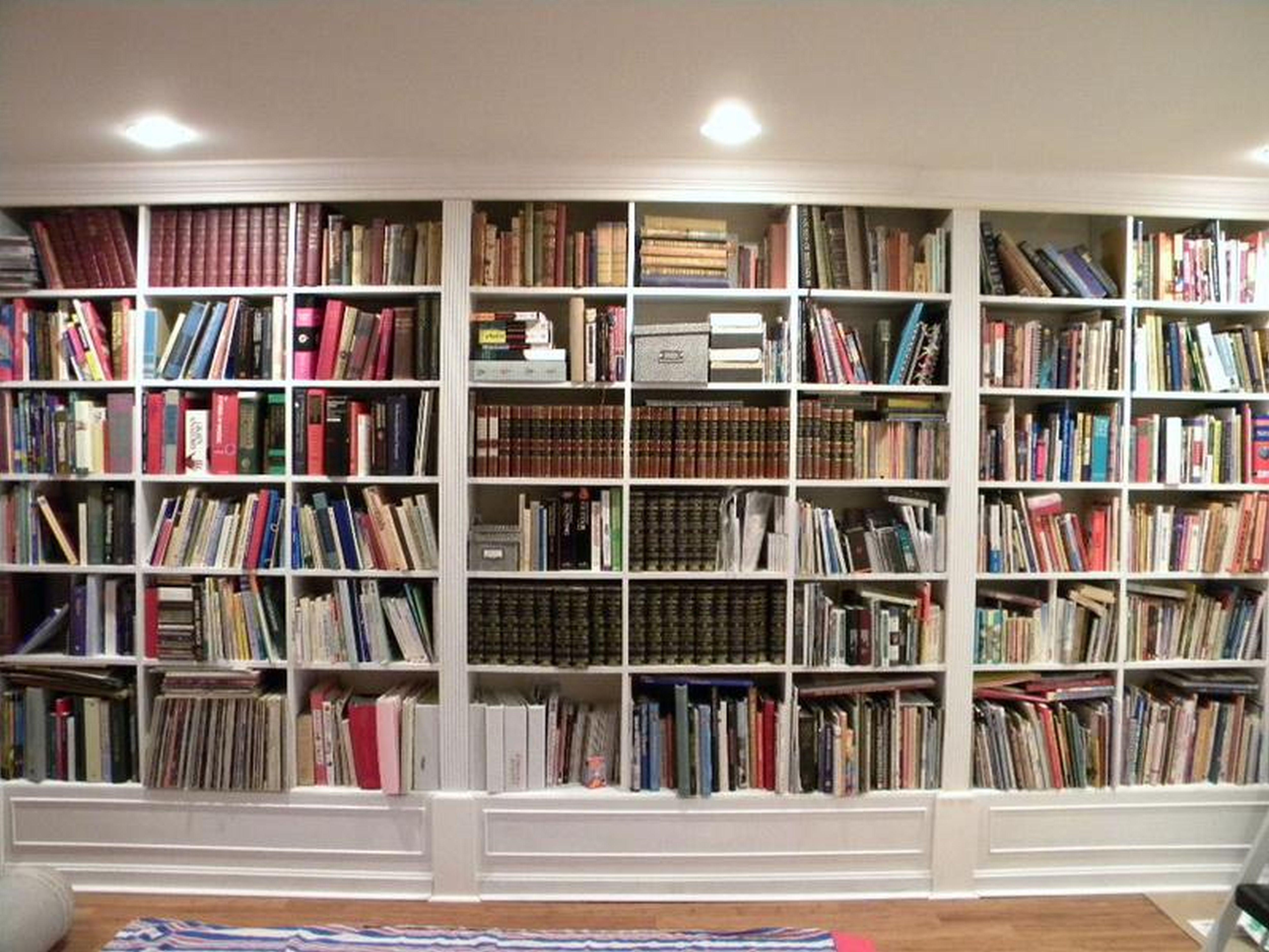 Bookshelf Wall Intended For Bookshelves (#8 of 15)