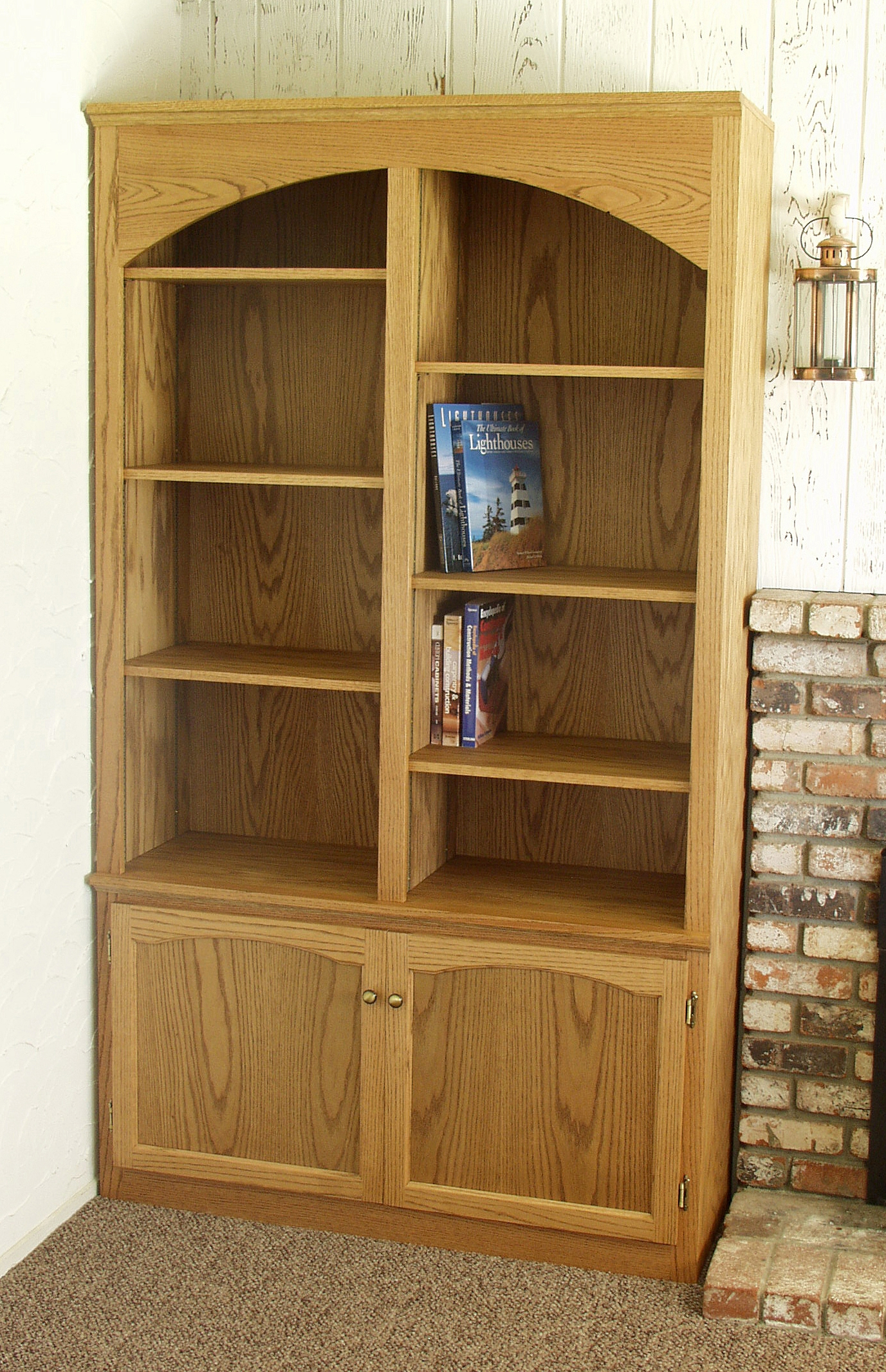 Bookshelf With Cabinet Base Creative Cabinets Decoration With Bookcase With Cupboard (View 5 of 15)