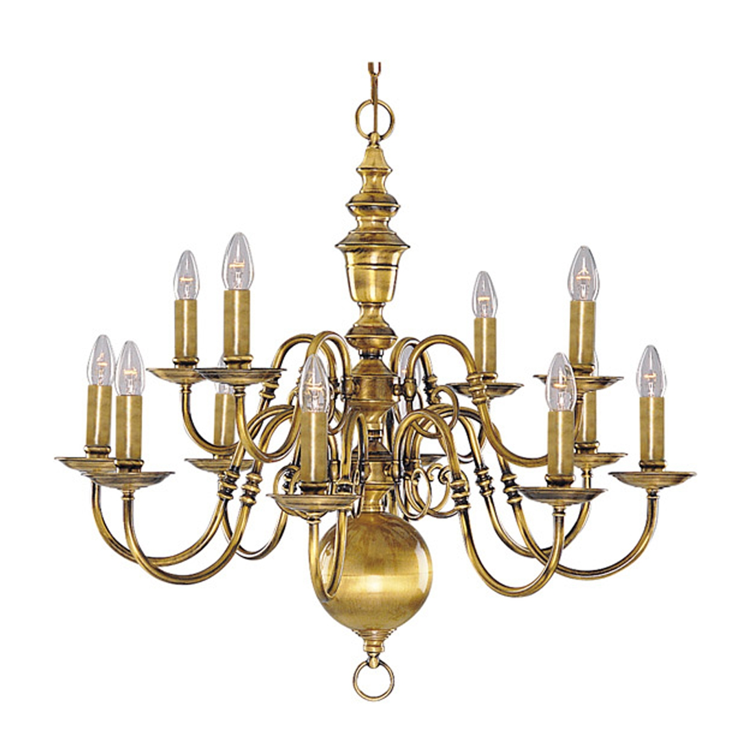 Brass Chandelier Home Designs For Old Brass Chandelier (#7 of 12)