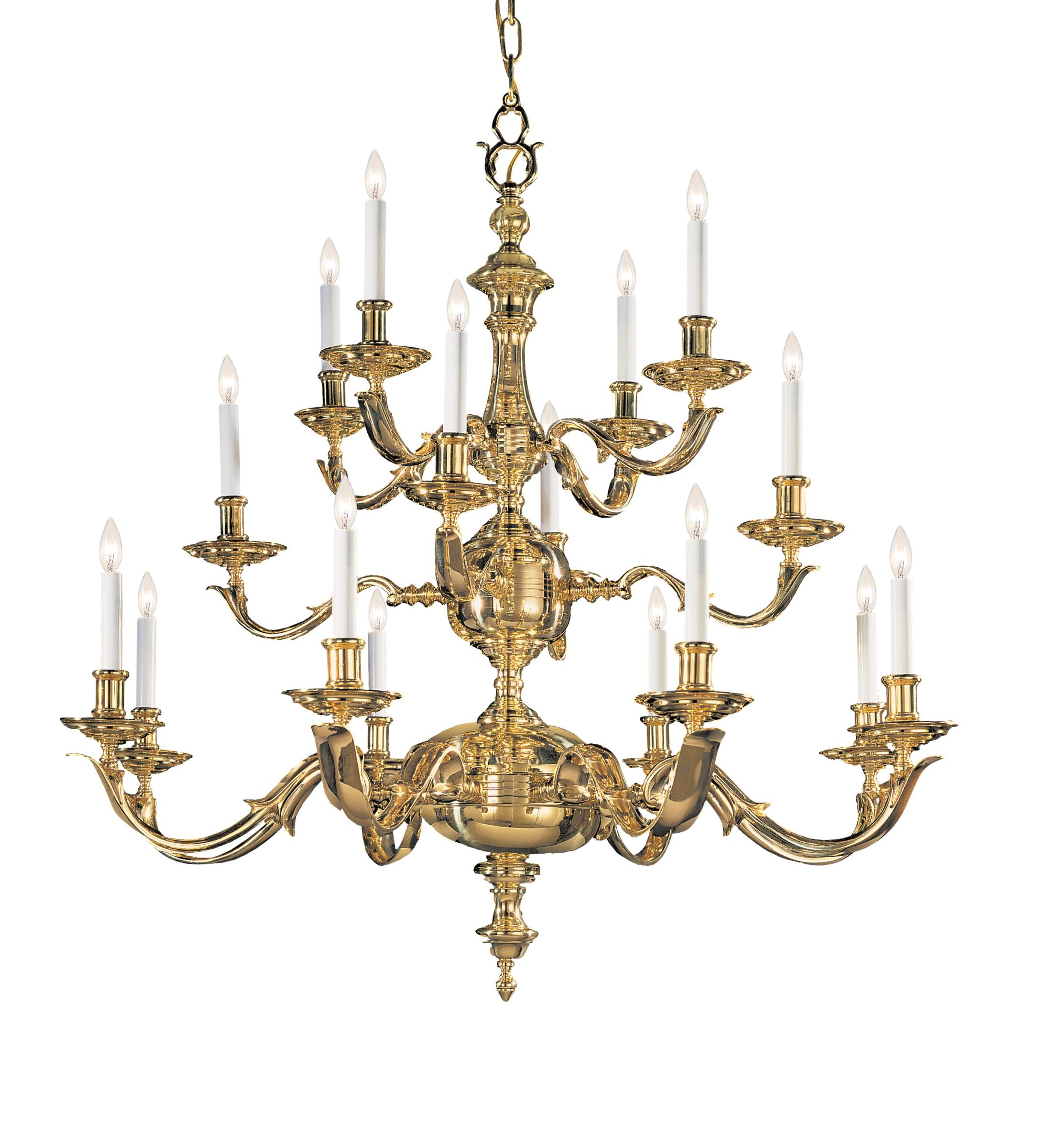 Brass Chandelier Home Designs For Traditional Brass Chandeliers (#1 of 12)