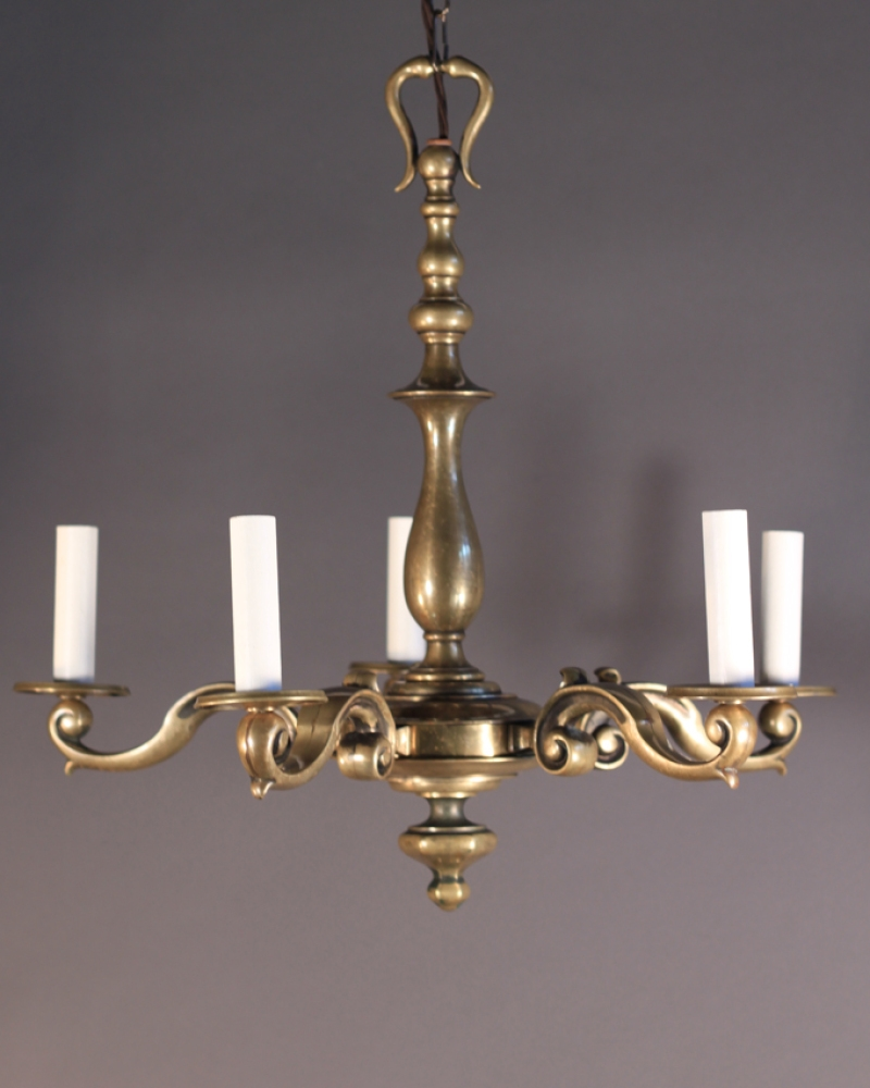 Brass Chandelier Vintage For Your Decorating Home Ideas With Brass Throughout Vintage Brass Chandeliers (#4 of 12)