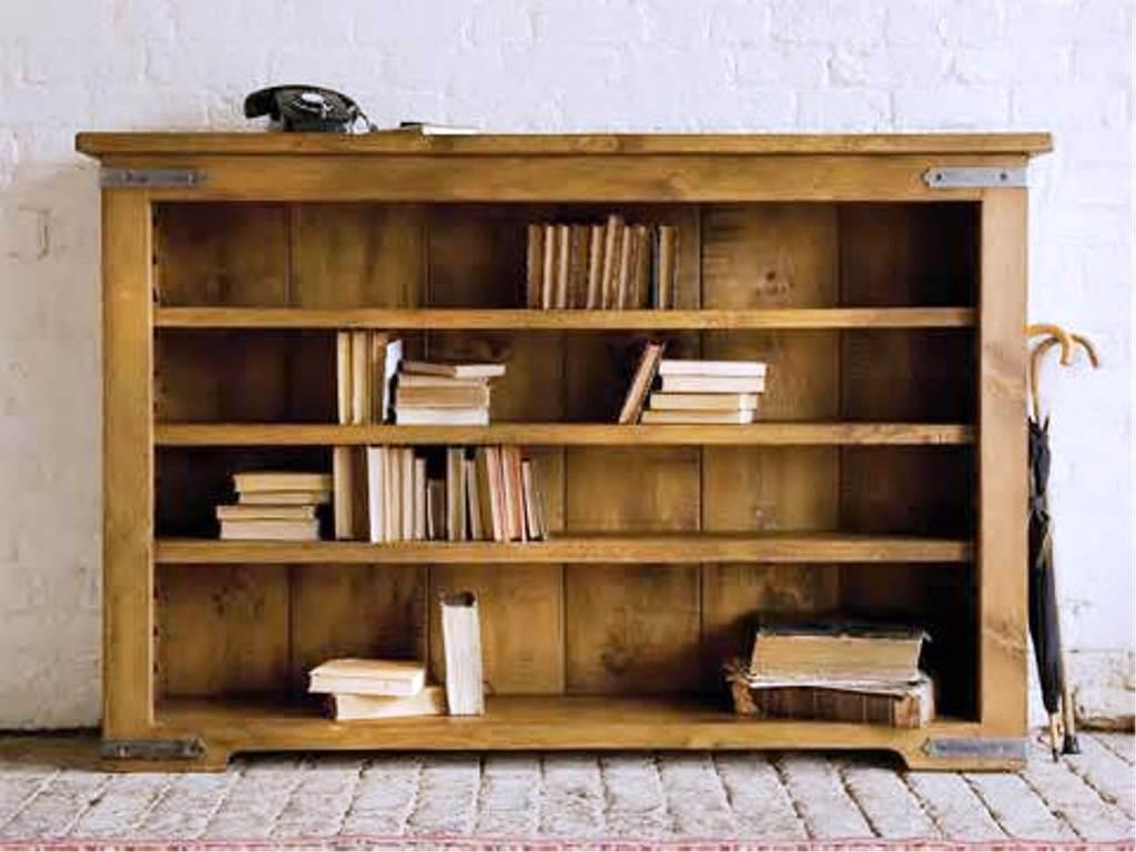 Breathtaking Solid Wood Bookcase Double Sided Freestanding Type Intended For Freestanding Bookcase (#2 of 15)