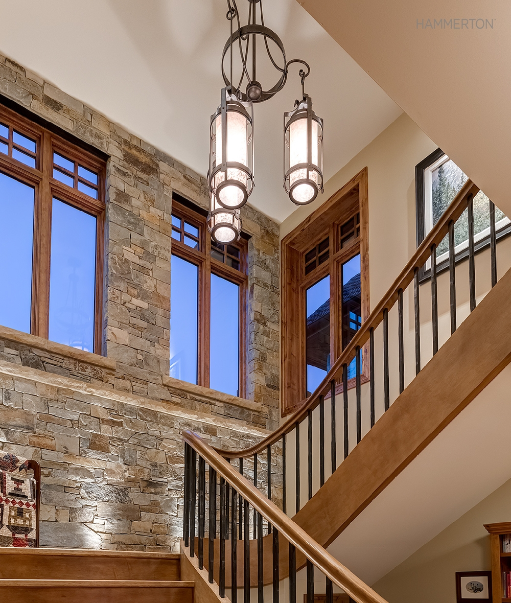 Bright Stairway Ideas Hammerton Blog Regarding Stairway Chandelier (#4 of 12)