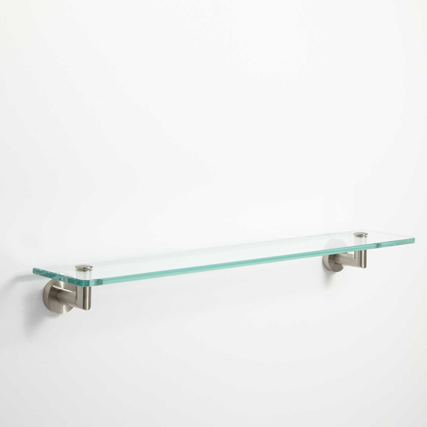 Bristow Tempered Glass Shelf Bathroom For Glass Shelves (#2 of 12)