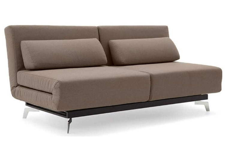 Brown Contemporary Convertible Sofa Bed Apollo Bark The Futon Shop Intended For Sofa Bed Sleepers (#4 of 15)