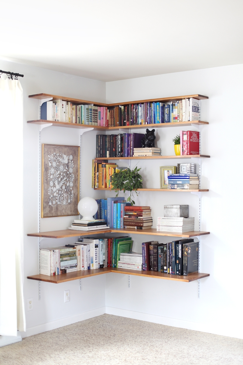 Build Organize A Corner Shelving System Corner Shelving Inside Study Shelving (#4 of 15)