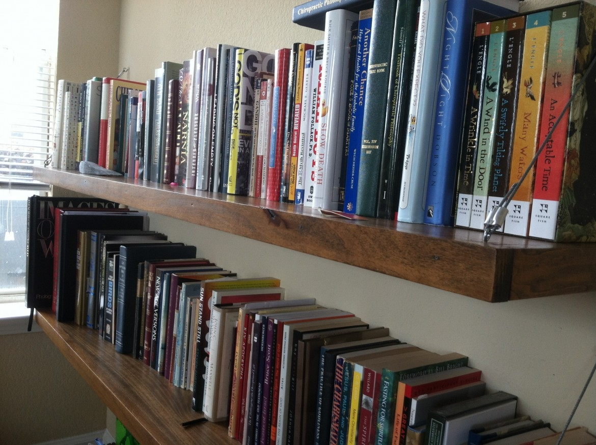 Build Storages Ideas With Make Your Own Bookshelf In Your Living With Regard To Built In Bookshelf Kits (#4 of 15)