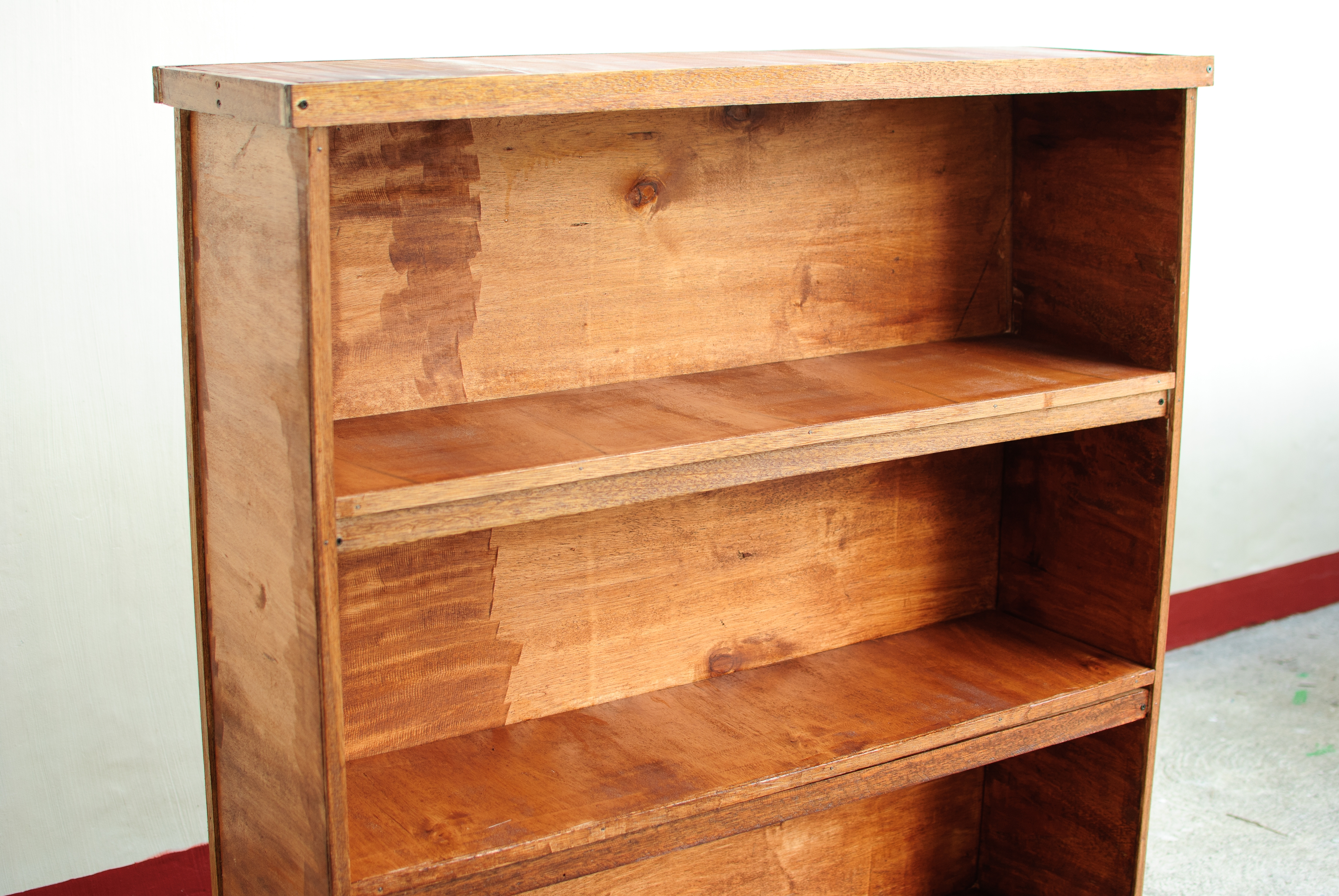 Building Wood Bookcase Thediyworld In Wooden Bookshelves (#3 of 14)
