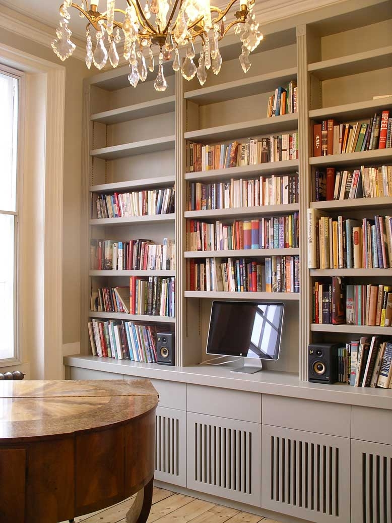 Built In Book Cases In Fitted Bookcase (#4 of 15)