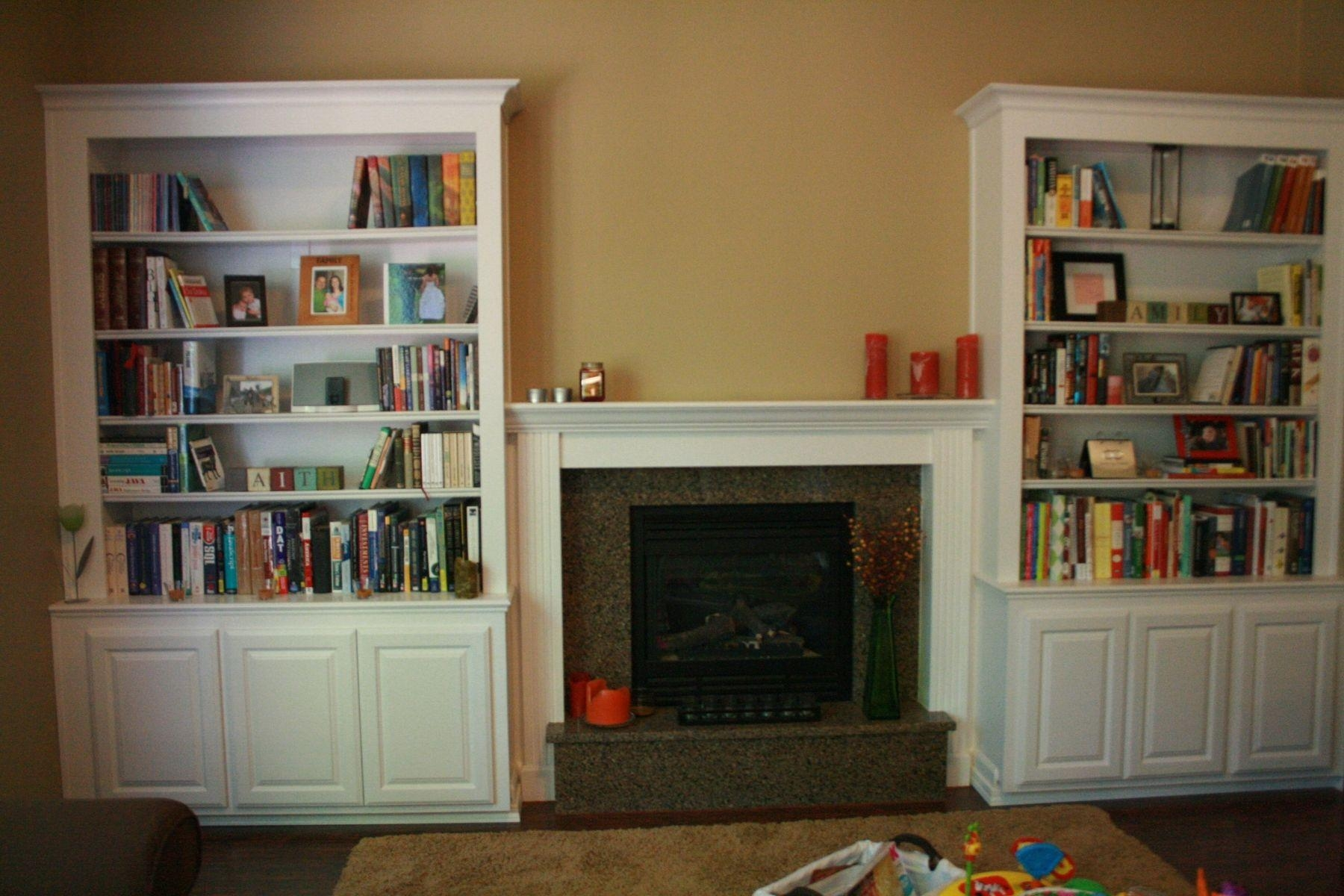 Built In Book Shelves Home Design Images Aboutelves On Pinterest With Built In Bookcase Kit (#3 of 15)