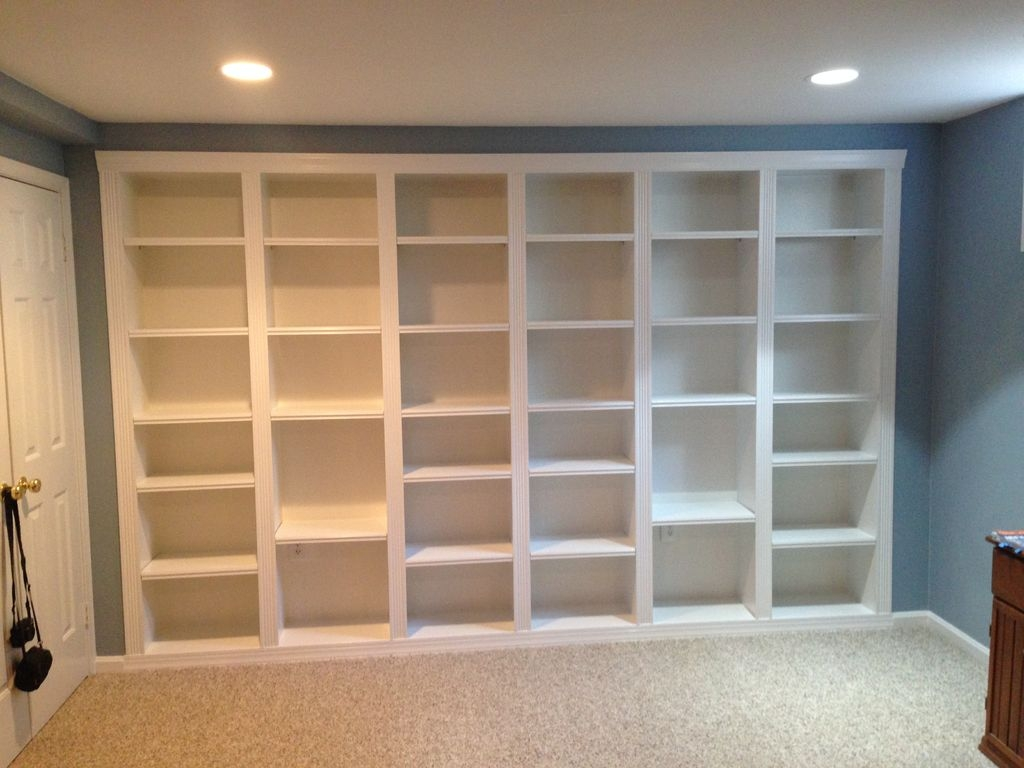 Built In Bookcases 5 Steps Intended For Large Bookcases (#7 of 15)