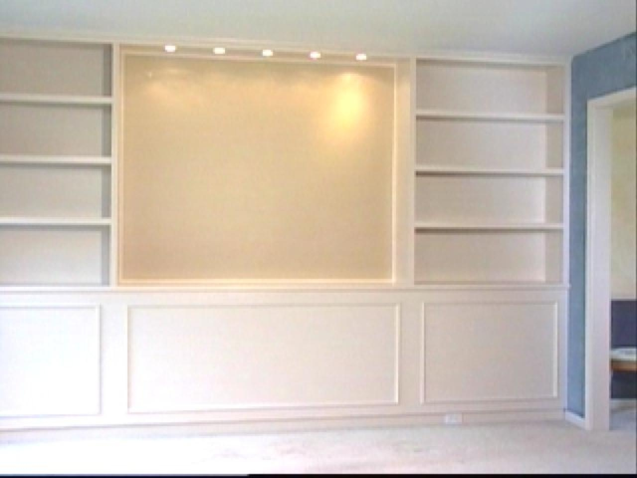 Built In Bookcases Hgtv Within Built In Bookcases With Tv (#5 of 15)