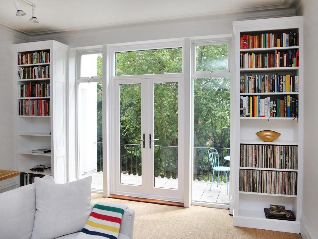 Built In Bookshelves Bespoke Bookcases London Furniture Artist Inside Bespoke Bookcases (#9 of 15)