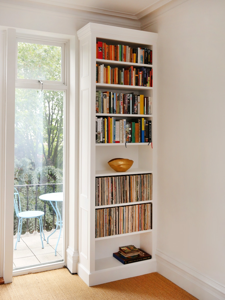 Built In Bookshelves Bespoke Bookcases London Furniture Artist Inside Bespoke Bookshelves (#7 of 14)