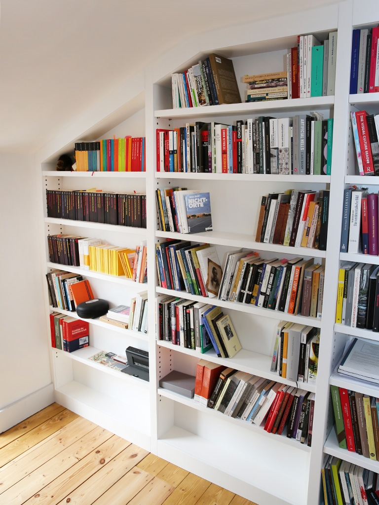 Built In Bookshelves Bespoke Bookcases London Furniture Artist Throughout Bespoke Shelving (#10 of 15)