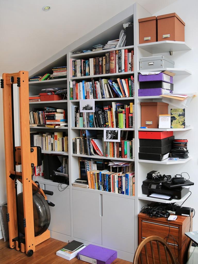 Built In Bookshelves Bespoke Bookcases London Furniture Artist With Bespoke Bookcases (#10 of 15)