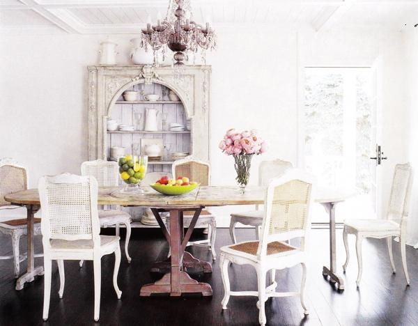 Bungalow 5 Stockholm Center Dining Table With White Cane Dining Within White Cane Sofas (#7 of 15)