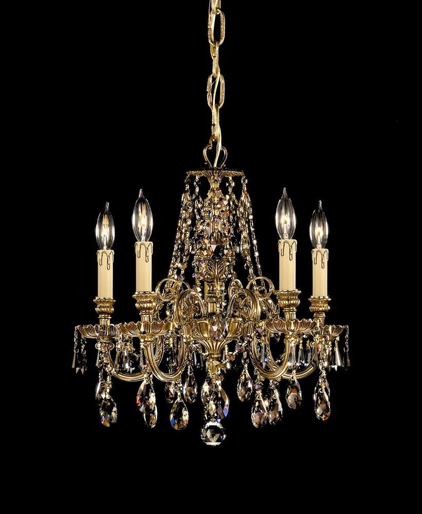 Buy 12 Lights Cast Brass Crystal Chandelier For Brass And Crystal Chandelier (#4 of 12)