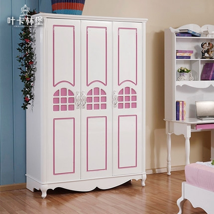 Buy Childrens Bedroom Furniture Suite Pink Princess Girl Child Bed Within Childrens Pink Wardrobes (View 7 of 15)