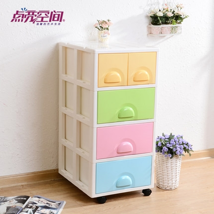 Buy Lit Space Plastic Drawer Storage Cabinets Lockers Ba For Cheap Baby Wardrobes (View 6 of 15)