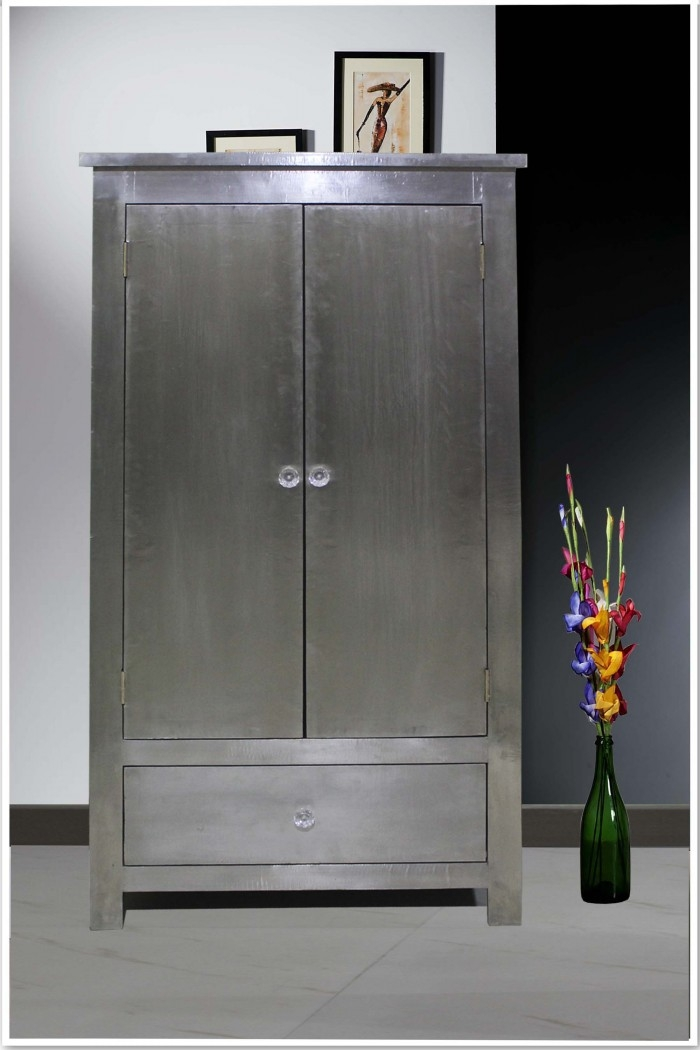 15 best collection of metal wardrobes for Home furniture online ireland