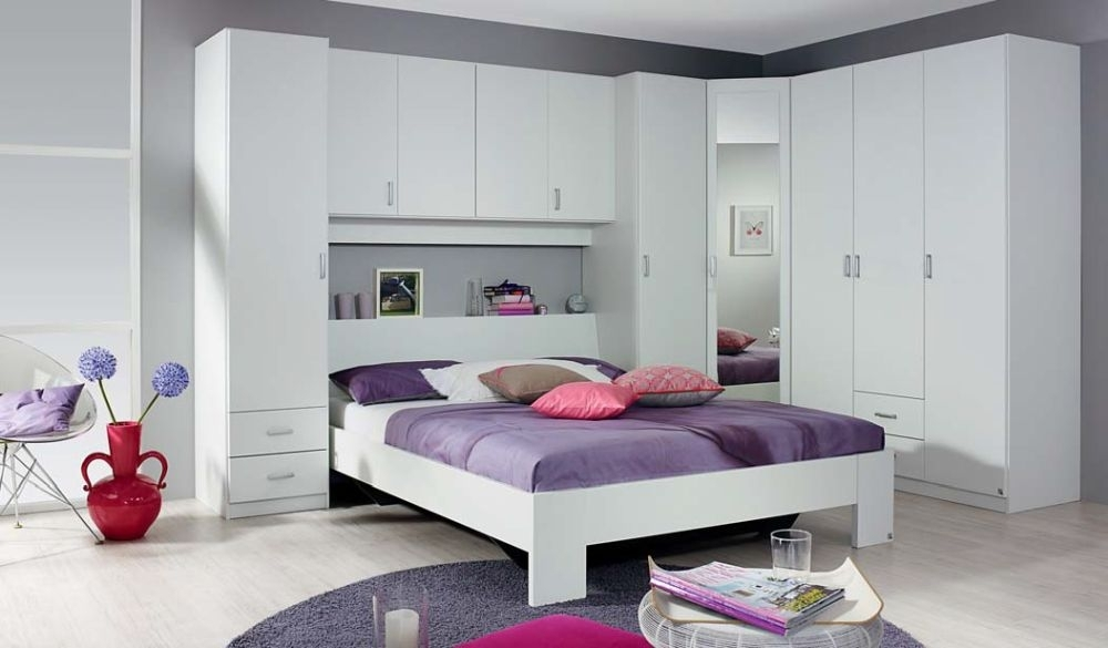 Buy Rauch Kreta Overbed Unit Online Cfs Uk With Overbed Wardrobes (View 2 of 15)
