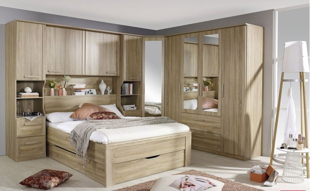 Buy Rauch Rivera New Milos Overbed Unit Online Cfs Uk In Overbed Wardrobes (View 3 of 15)