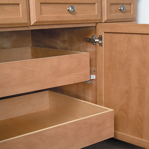 Cabinet Storage Solutions Within Cupboard Drawers (#9 of 15)