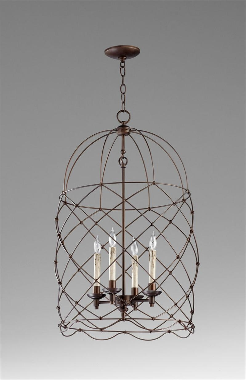 Cage Chandelier Fabulous In Designing Home Inspiration With Cage Throughout Cage Chandeliers (#1 of 12)